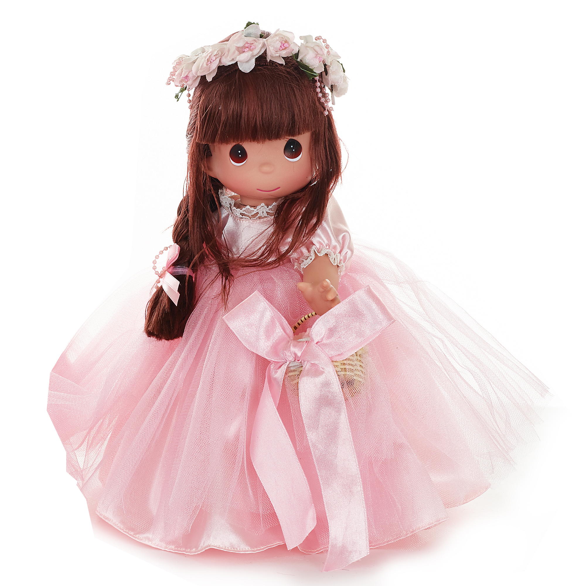 Precious Moments Dolls by The Doll Maker, Linda Rick, Precious as a Petal, Brunette, 12 inch doll