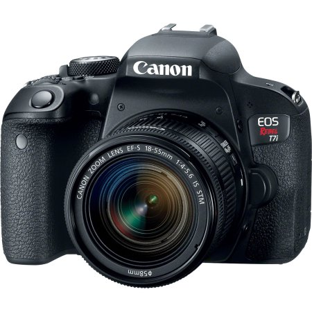 Canon EOS Rebel T7i DSLR Camera with 18-55mm Lens by Canon