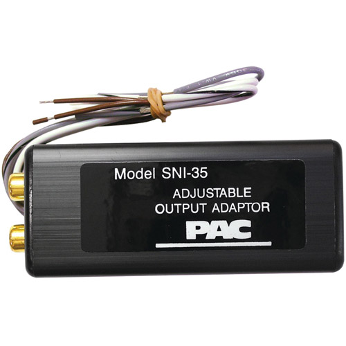 PAC SNI-35 Adjustable 2-Channel Line Out Converter - Walmart.com