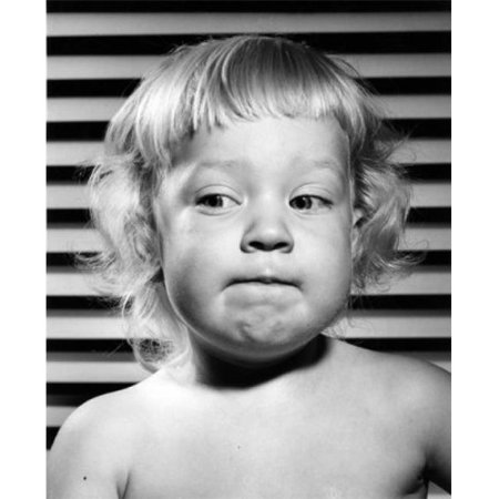 Posterazzi SAL2559432C Portrait of Girl Making Faces Poster Print - 18 x 24 in. - image 1 de 1