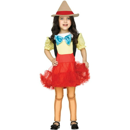 Pinocchio Girl Doll Toddler Halloween Costume - Infant Pinocchio Costume