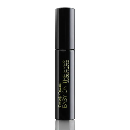 EASY ON THE EYES Sensitive Eye Mascara, Black/Brown (0.35 oz) By Beautify Beauties. Gives You Natural Looking Lashes. Non irritating, Great for Sensitive Eyes,