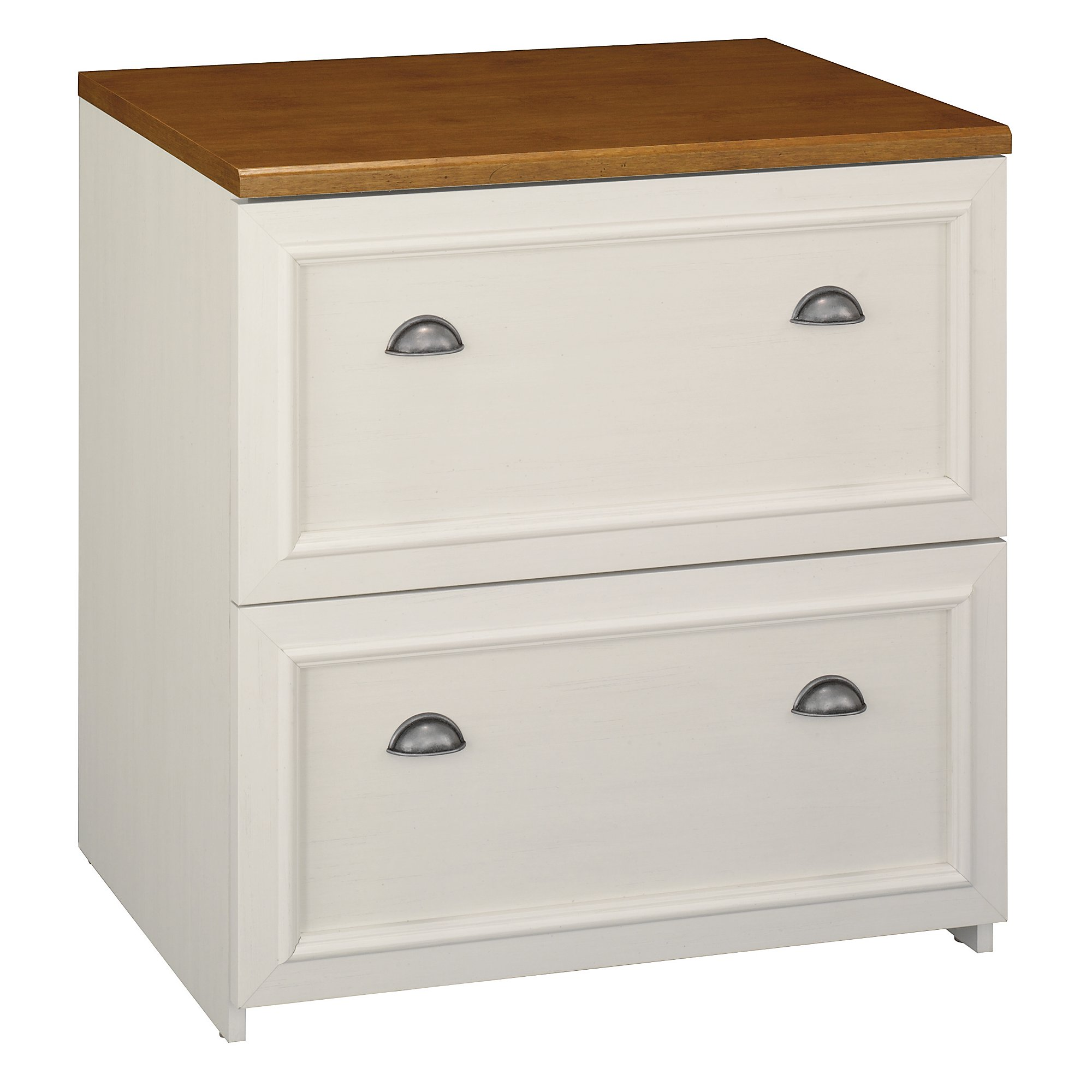Exceptionnel Bush Fairview Collection L Shaped Desk With Hutch And 2 Drawer Lateral File  Cabinet, Antique White   Walmart.com
