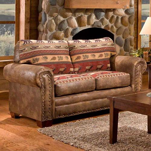 American Furniture Classics Sierra Lodge Loveseat by American Furniture Classics