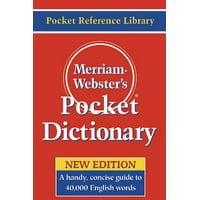 Merriam-webster's Pocket Dictionary