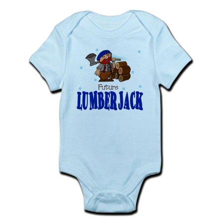 CafePress - Future Lumberjack Baby Toddler Infant Bodysuit - Baby Light Bodysuit