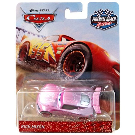 Disney Cars Fireball Beach Racers Rich Mixon Diecast -