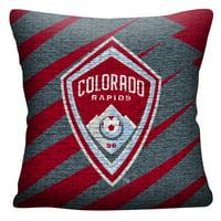 Colorado Rapids The Northwest Company MLS Jacquard Pillow