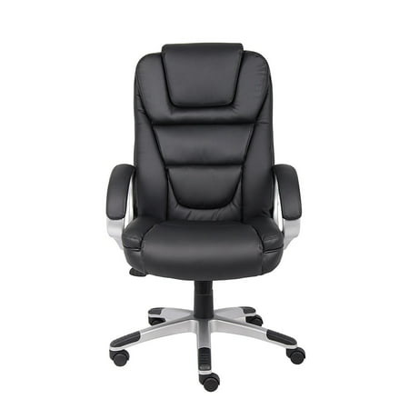High Back PU Leather Executive Chair Office Ergonomic Task Chair Computer PC Desk Swivel Chair- Extremely Comfortable Chair that Everyone Loves, Bomber