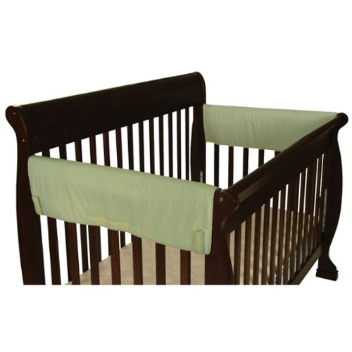 Leachco Easy Teether XL Side Crib Rail Cover 2 Pack - Sage