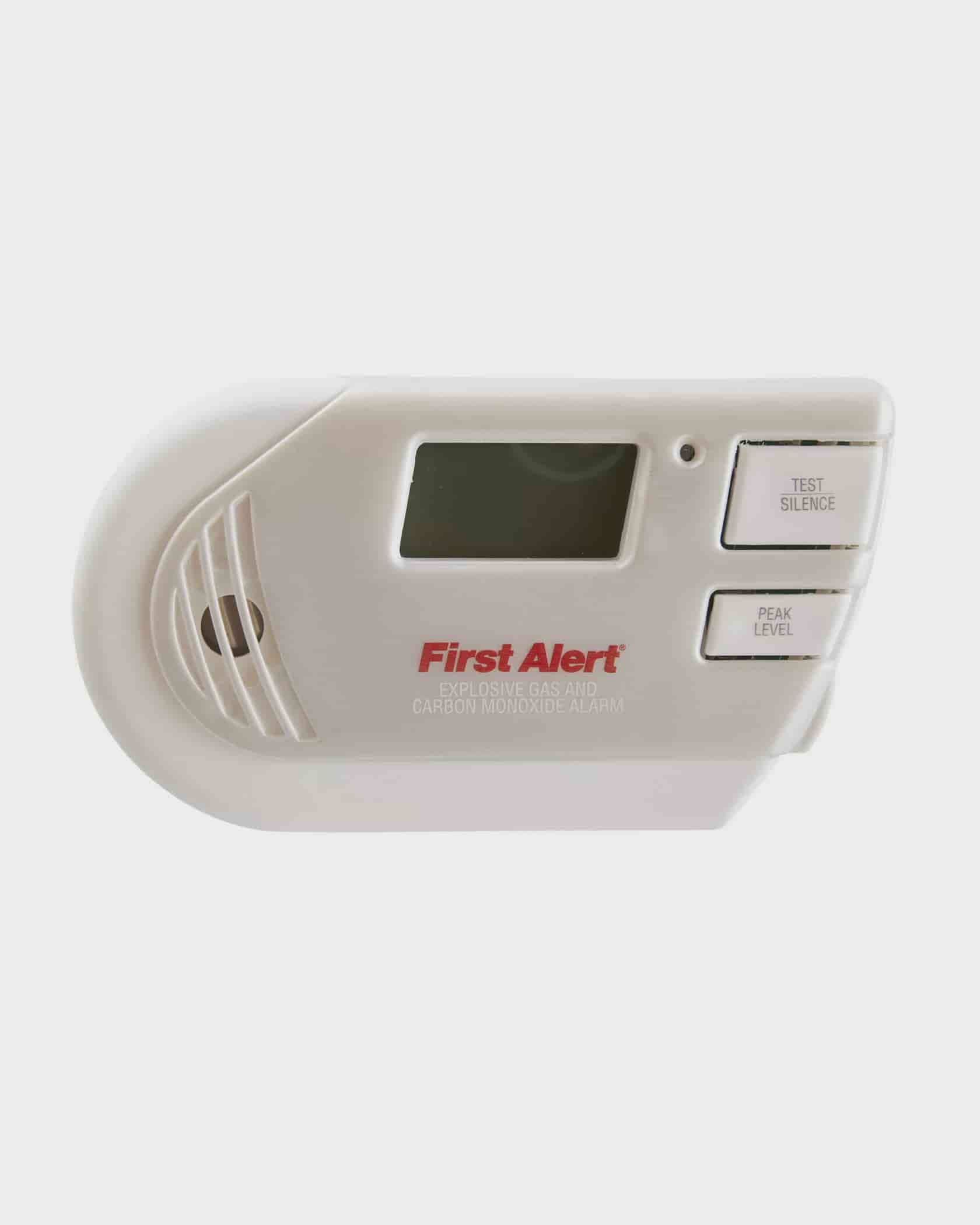 First Alert Gco1cn Combination Explosive Gas And Carbon Monoxide Dooropening Alarm Using Hall Sensor Electronics For You With Backlit Digital Display
