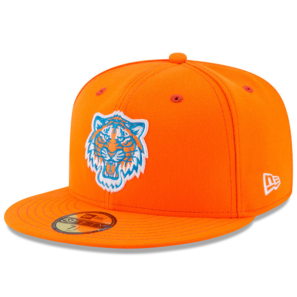 Detroit Tigers New Era 2017 Players Weekend 59FIFTY Fitted Hat - Orange