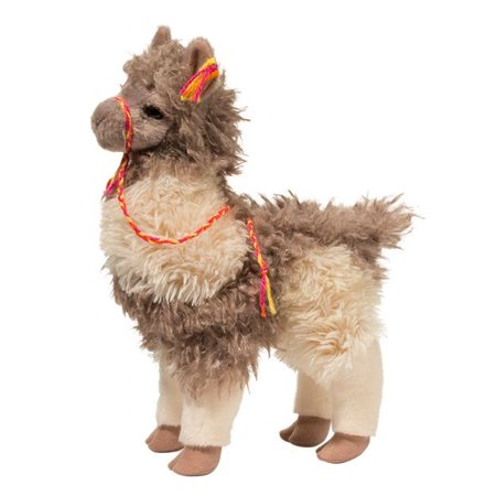 Zephyr Llama 12 inch - Stuffed Animal by Douglas Cuddle Toys (1743)