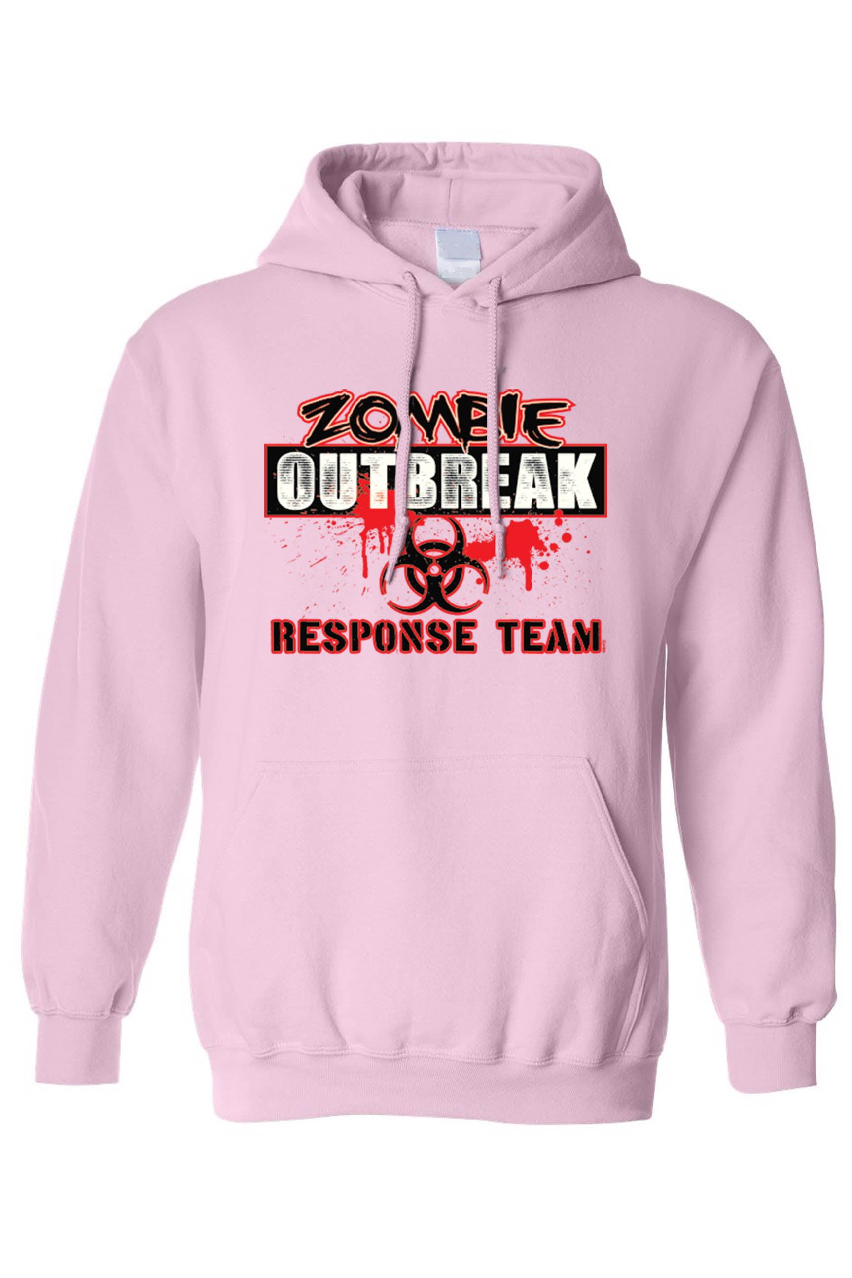 zerogravitee Zombie Outbreak Response Team Hooded Sweatshirt
