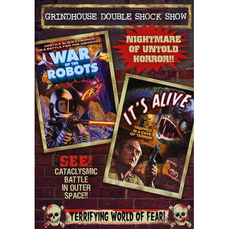 Wars of the Robots / It's Alive (DVD)
