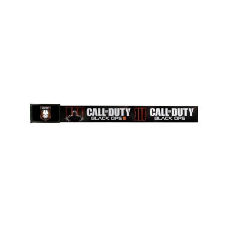 Call Of Duty: Black Ops III Video Game Commander Logo Web Belt With
