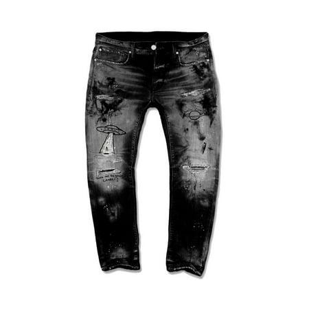 Jordan Craig Galaxy Denim Kids Pants Black jm3123k-black ()