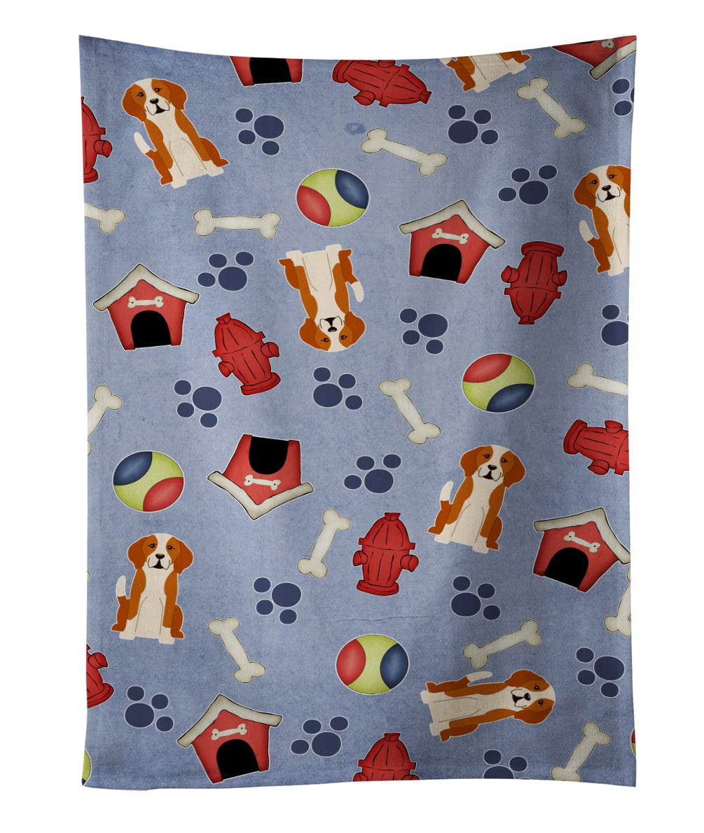 Dog House Collection English Foxhound Kitchen Towel BB2723KTWL by Caroline's Treasures