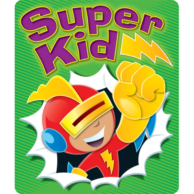 Super Kid Stickers - image 1 of 1
