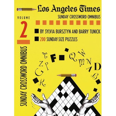 Los Angeles Times Sunday Crossword Omnibus, Volume 2 - Halloween Activities For Toddlers Los Angeles