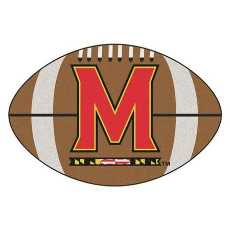 FANMATS NCAA University of Maryland Football Doormat