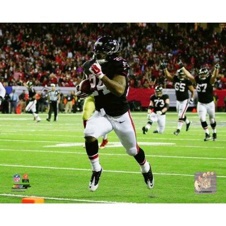 Devonta Freeman 2016 Action Photo Print