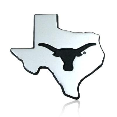 University of Texas Longhorn Debossed Car Emblem