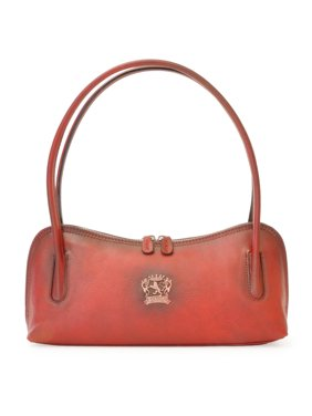 ec86a891aa7 Product Image Pratesi Womens Italian Leather Sansepolcro Small Shoulder  Handbag Purse in Cow Leather