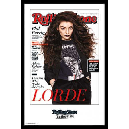 Rolling Stone - Lorde 14 Poster Print