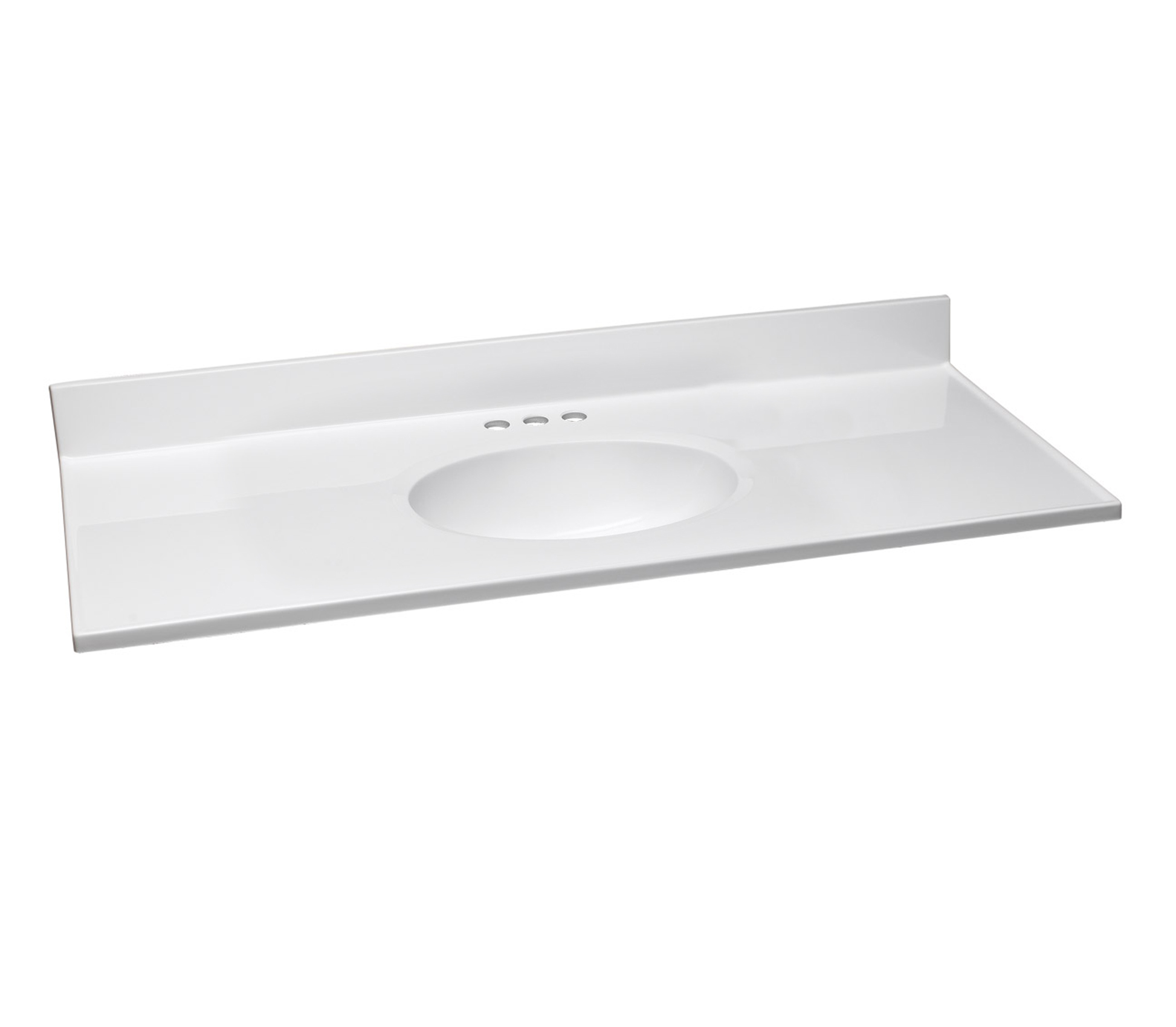 Design House 586214 Cultured Marble Vanity Top 49x19