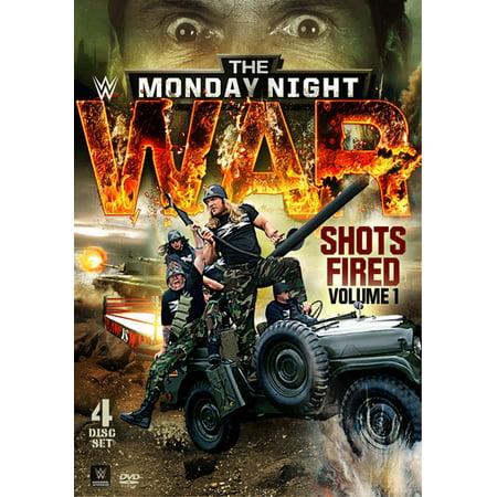Wwe  The Monday Night War   Volume 1  Shots Fired