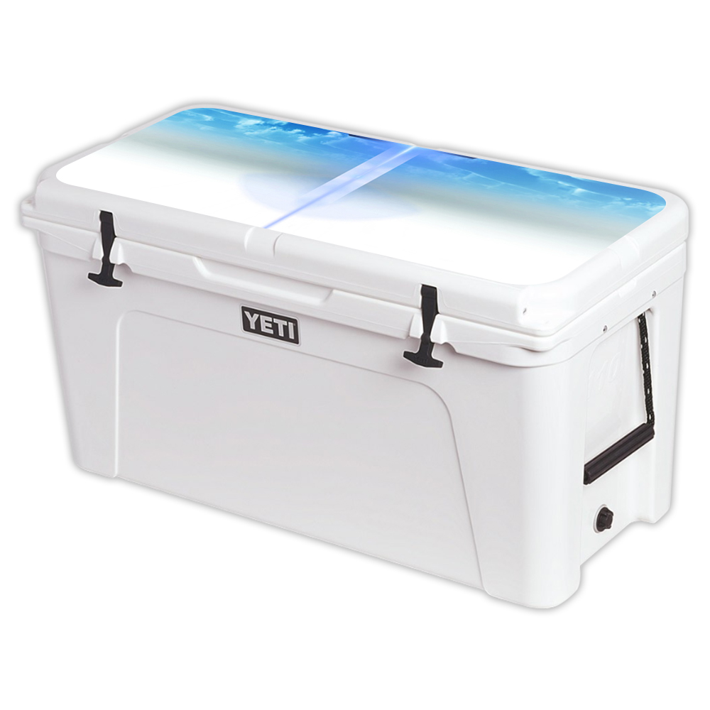 MightySkins Protective Vinyl Skin Decal for YETI Tundra 110 qt Cooler Lid wrap cover sticker skins Cross