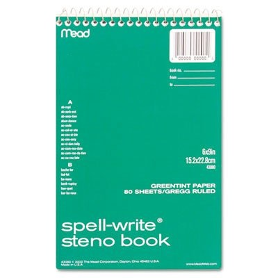 Spell-Write Steno Book