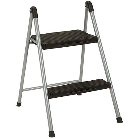 cosco 2 step folding step stool without handle. Black Bedroom Furniture Sets. Home Design Ideas