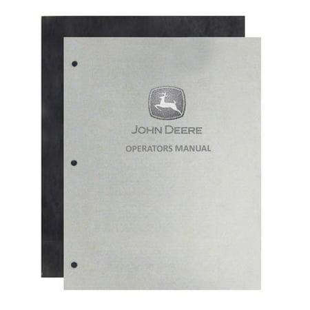 Operator's Manual - 2510, New, John Deere, OMR38407