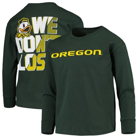 Youth Russell Athletic Green Oregon Ducks Graphic Long Sleeve T-Shirt