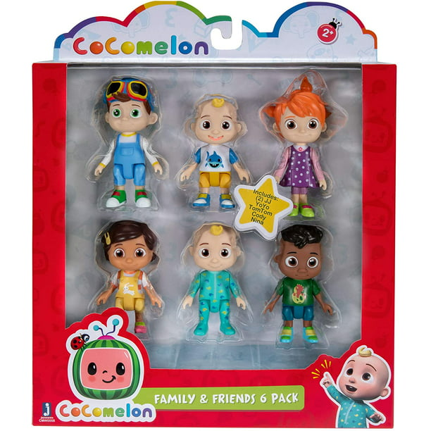 Cocomelon Cocomelon Friends Family 6 Figure Pack 3 Toys Featuring Jj Bella Nina Yoyo Tomtom And Cody Character Toys For Babies Toddlers And Kids Walmart Com Walmart Com