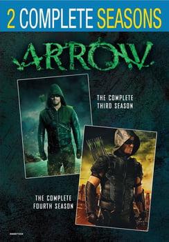 Arrow: Seasons 3 & 4 (DVD) by