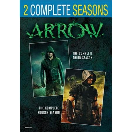 Arrow: Seasons 3 & 4 (DVD) ()