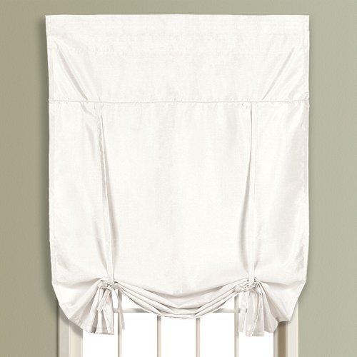 United Curtain Anna Faux Silk Tie-Up Shade