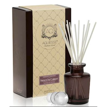 Collection Reed Diffuser - FRENCH OAK CURRANT AQUIESSE Reed Diffuser Portfolio Collection  Gift Boxed