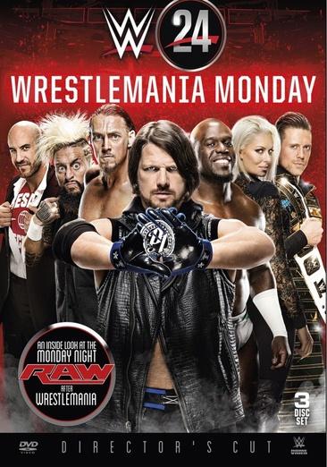 WWE: WWE 24 Wrestlemania Monday by WARNER HOME VIDEO