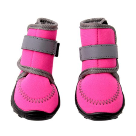 4Pcs/Set Dog's Winter Boots Cotton Waterproof Pet Dog Shoes Non Slip XS XL For ChiHuaHua Puppy -