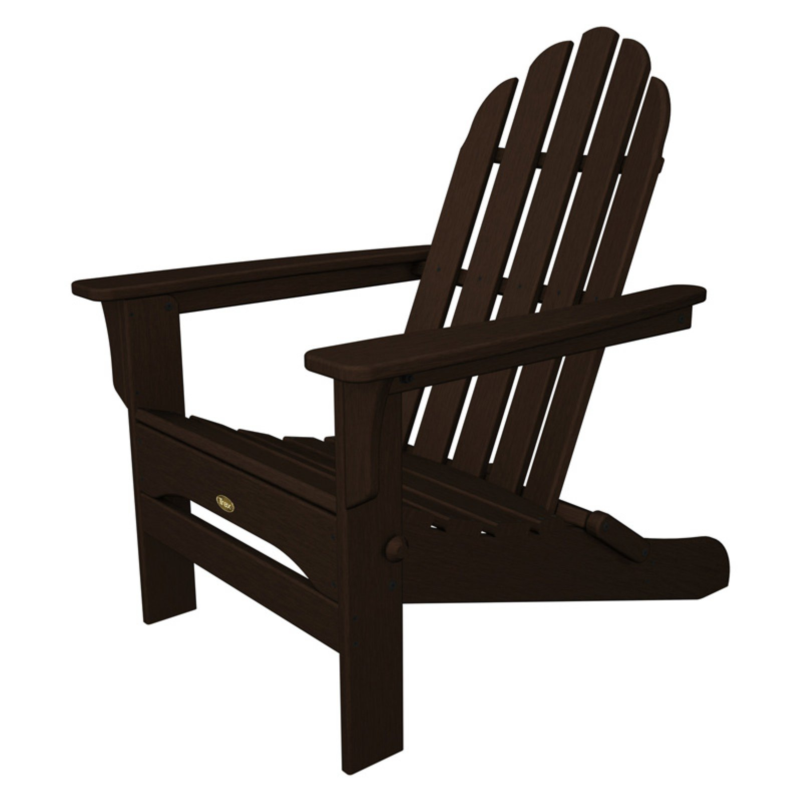 Trex Outdoor Furniture Recycled Plastic Cape Cod Folding Adirondack Chair