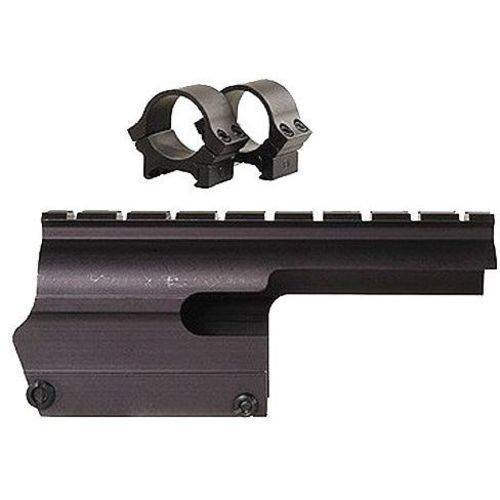 B-Square 16205 Saddle Scope Mount with Rings for Browning A-5 12-Gauge, Matte Black