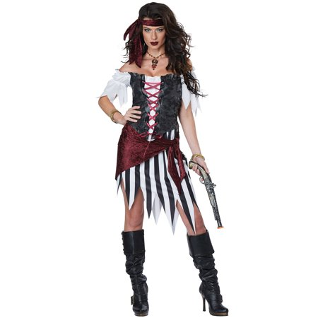 Pirate Beauty Adult Costume - Pirate Cosumes