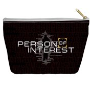 Person Of Interest Numbers Accessory Pouch White 8.5X6