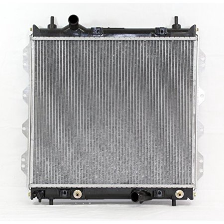 Radiator - Pacific Best Inc For/Fit 2298 01-10 Chrysler PT Cruiser 2.0/2.4L w/o Turbo PTAC 1Row