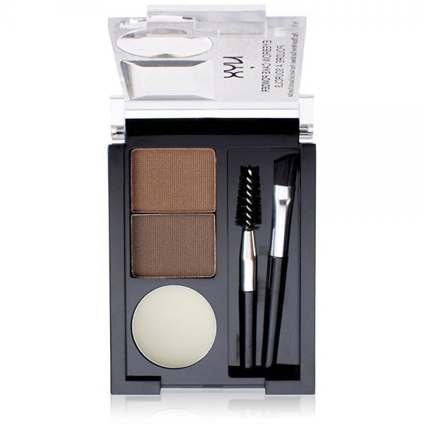 NYX Eyebrow Cake Powder, Dark Brown/Brown - Walmart.com ...