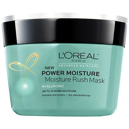 L'Oreal Paris Advanced Haircare - Power Moisture Moisture Rush Mask - Net Wt. 8.5 FL OZ (250 mL) - Pack of 2 (Hair Net Mask)